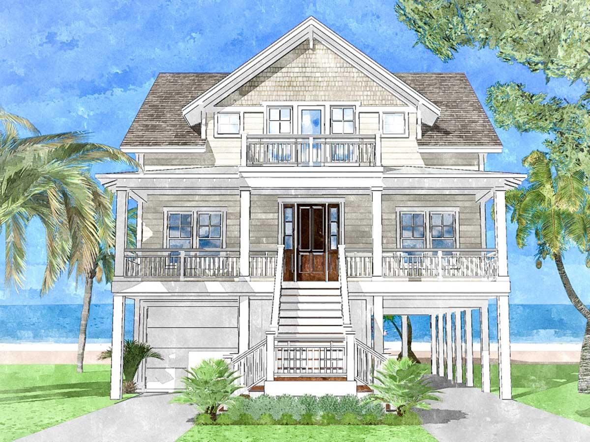 Upside Down Beach House - 15228NC