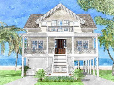 Upside down beach house 15228nc architectural designs for Upside down beach house plans
