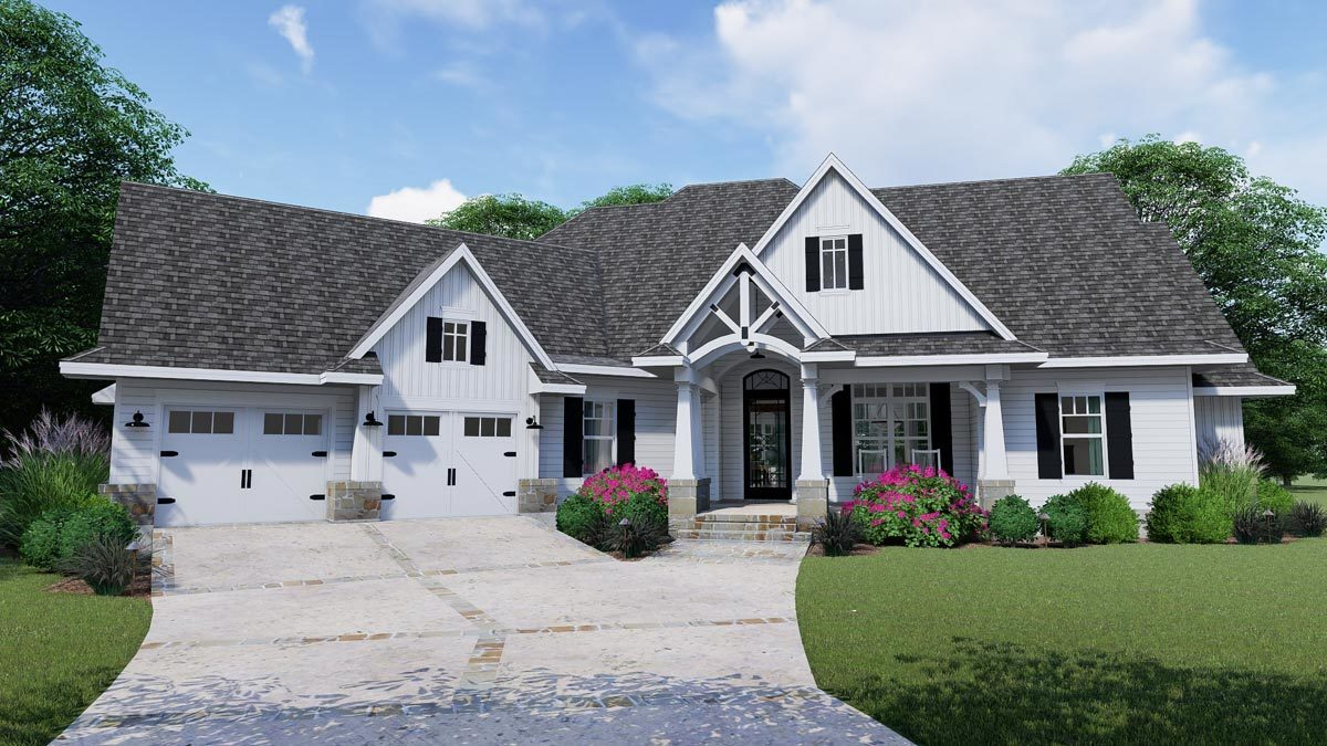New House Plans Architectural Designs