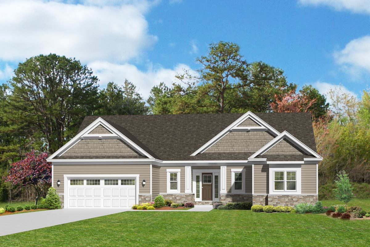 3-Bedroom One-Story Open Concept Home Plan - 790029GLV ...
