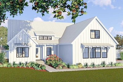 One Story 3 Bed Modern Farmhouse Plan 62738dj Architectural