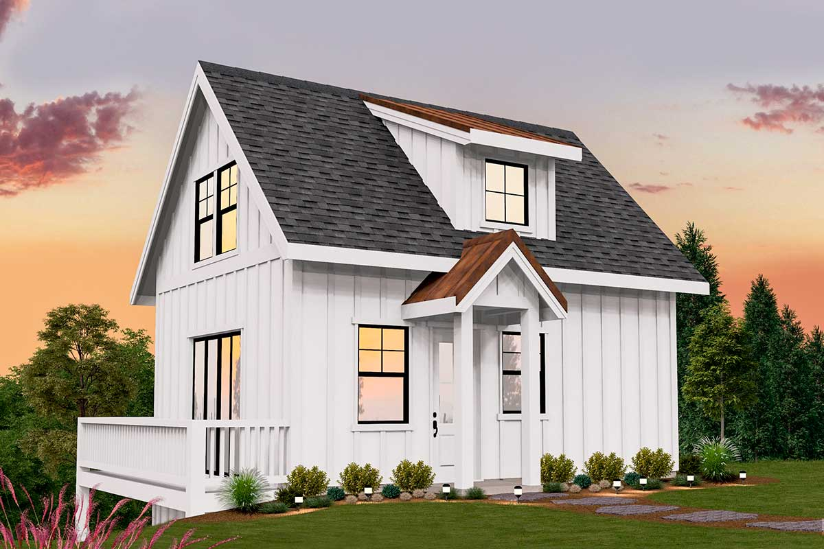 2 Bedroom Simple House Plans