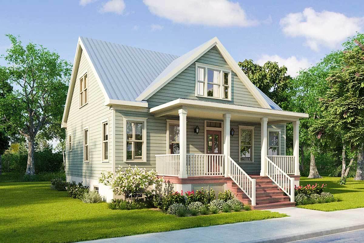 Narrow Lot House Plans Narrow Lot House