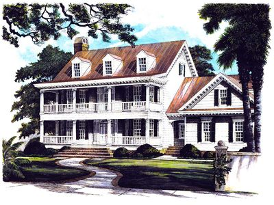 Southern Belle House Plan - 32501WP thumb - 14