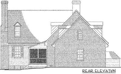 Adorable Cape Cod Home Plan - 32508WP thumb - 02