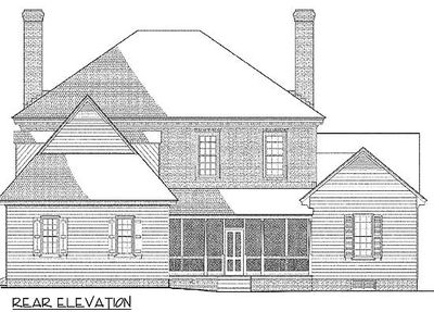 Elegant georgian home plan 32520wp architectural designs house plans - Elegant colonial architectural designs ...