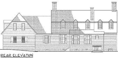 Historic Early Virginia Home Plan - 32521WP thumb - 02