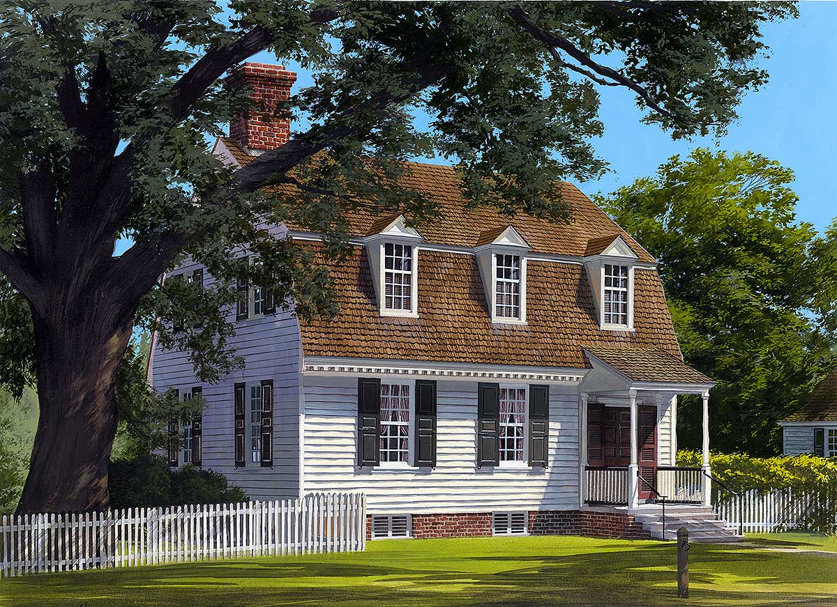 Appealing cape cod home plan 32523wp 2nd floor master for Cape home plans
