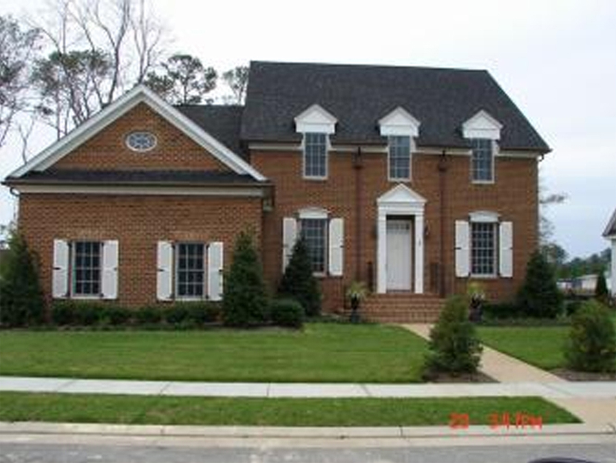 Colonial home with first floor master 32547wp for Colonial home plans