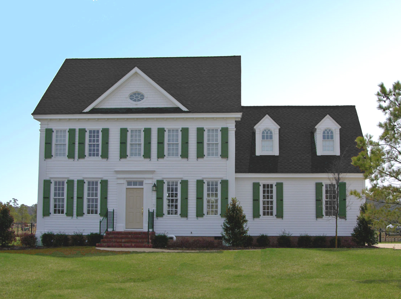 Stately Colonial Home Plan 32557wp 2nd Floor Master