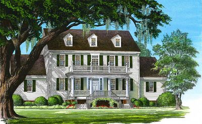 Colonial Home with 2-Story Family Room - 32562WP thumb - 06