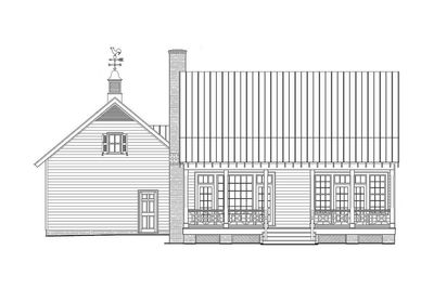Cottage With Porches Front and Back - 32565WP thumb - 02