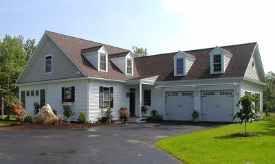 L-Shaped Cape Cod Home Plan - 32598WP thumb - 01