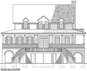Low Country House Plan With Wrap Around Porch 32631wp