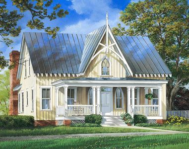 Charming Cottage House Plan 32657wp Architectural