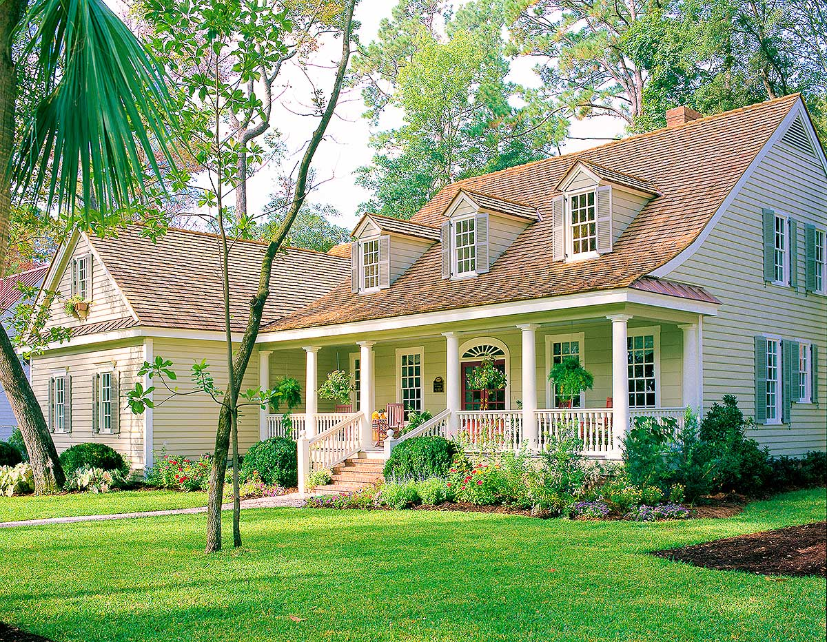 Charming Country House Plan 32658wp Architectural