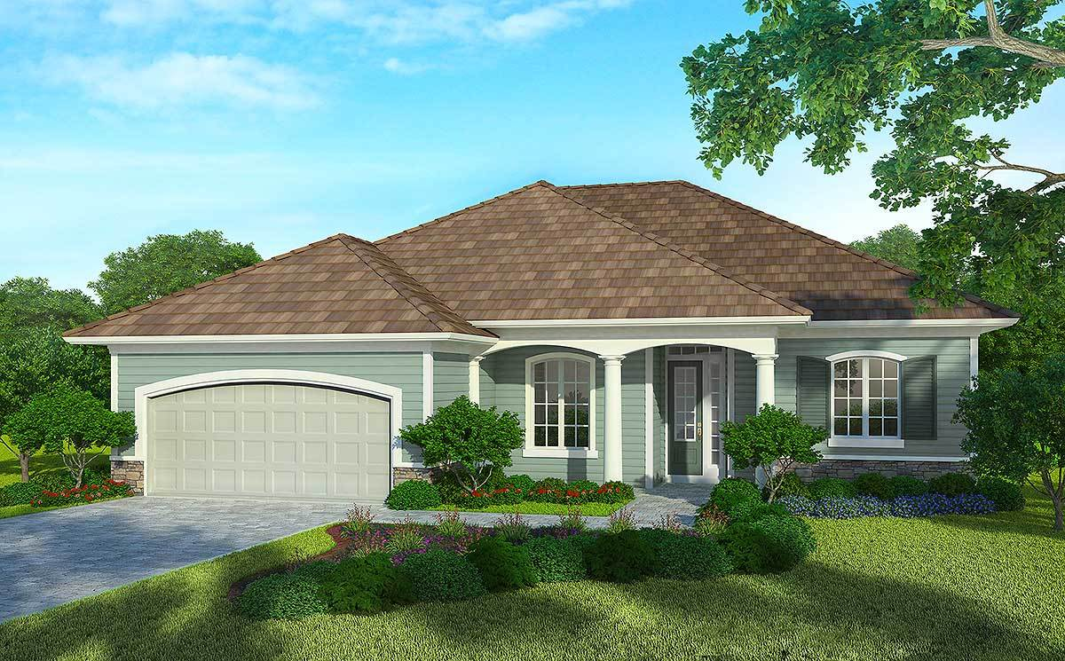 3 bed super energy efficient house plan 33007zr for Super insulated home plans