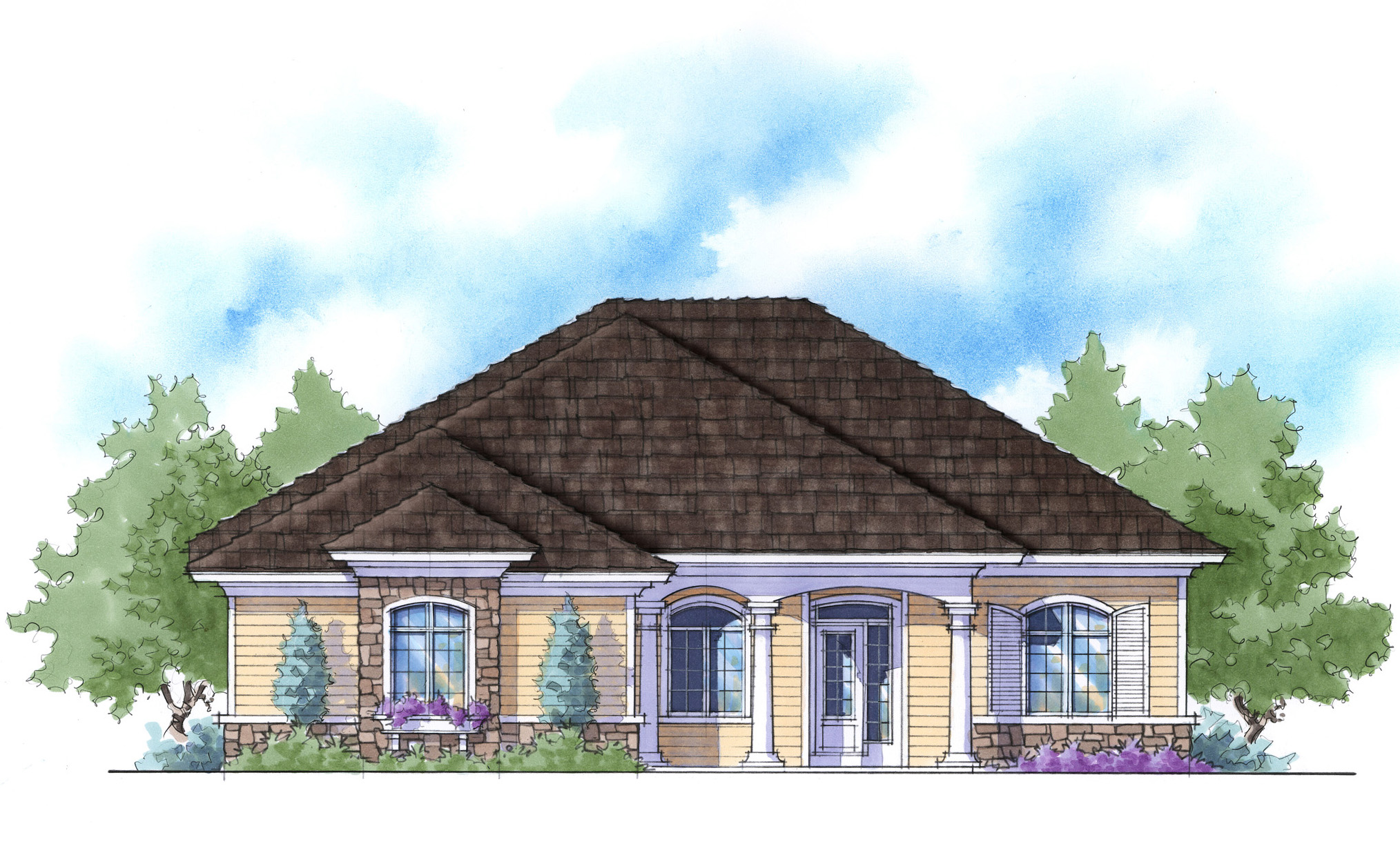 Super energy efficient house plan 33019zr for Super insulated house plans