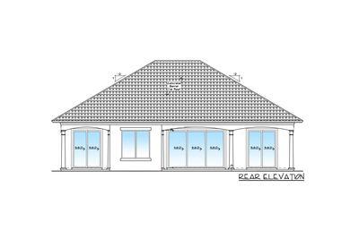 Energy Smart 3 Bedroom House Plan - 33026ZR thumb - 04