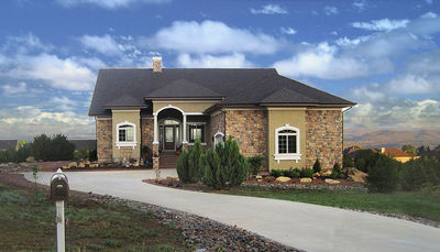 3 Bedroom Energy Efficient House Plan with Options - 33028ZR thumb - 02