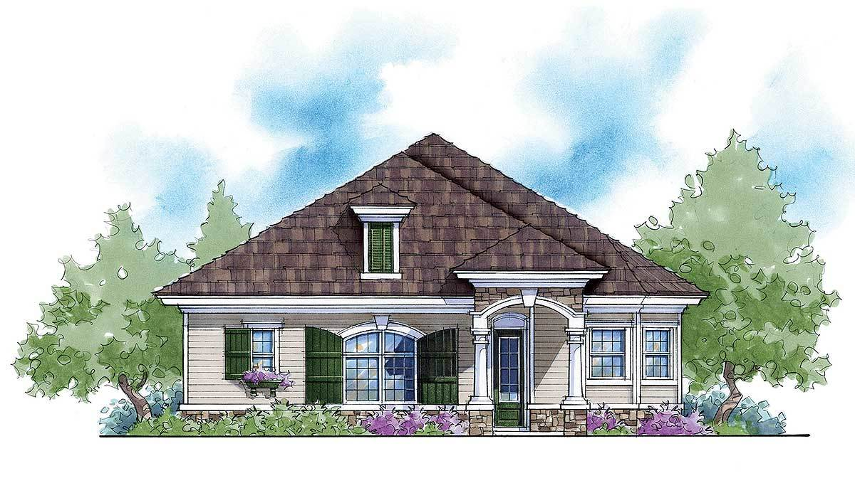 Max Energy Saving Home Plan 33037zr Architectural