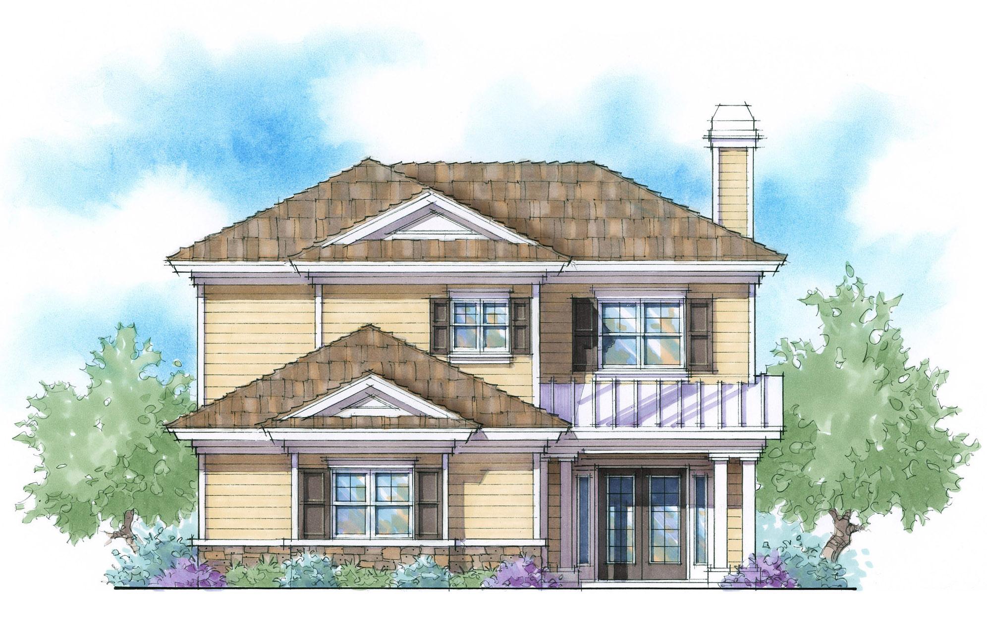 2 Story Energy Smart House Plan 33057zr 1st Floor