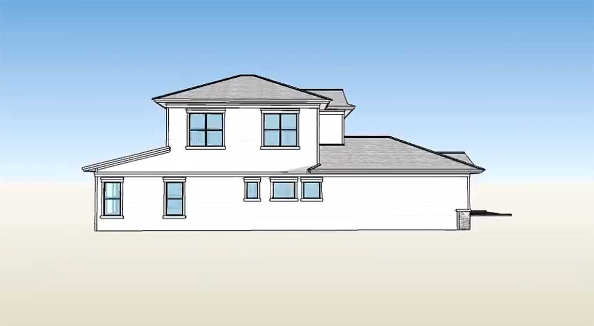 2 story energy smart house plan 33057zr 1st floor for Architecturaldesigns com house plan 56364sm asp