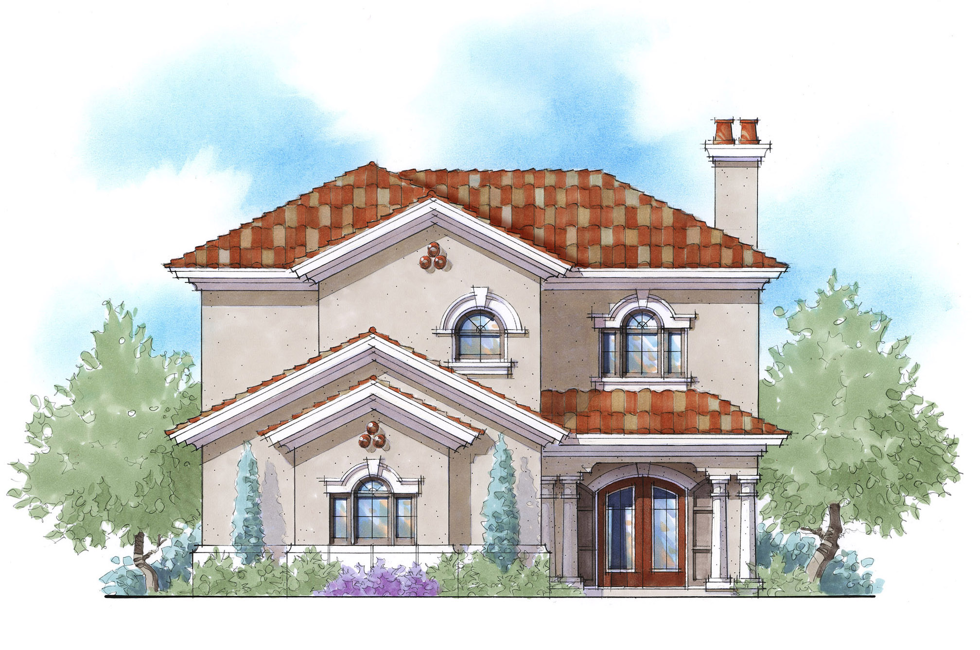 2 Story Energy Smart House Plan - 33059ZR