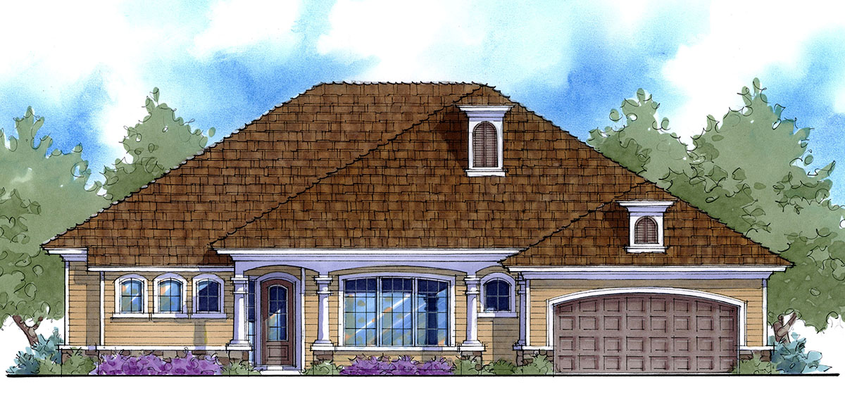 Energy Smart House Plan With Options 33109zr