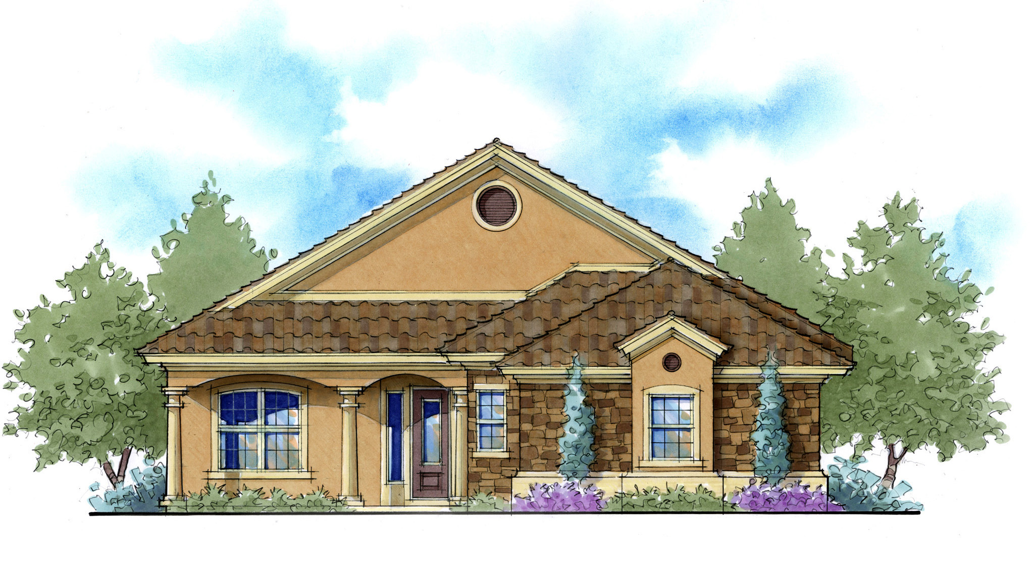 3 or 4 bedroom net zero ready home plan 33113zr 1st for Ready house plans