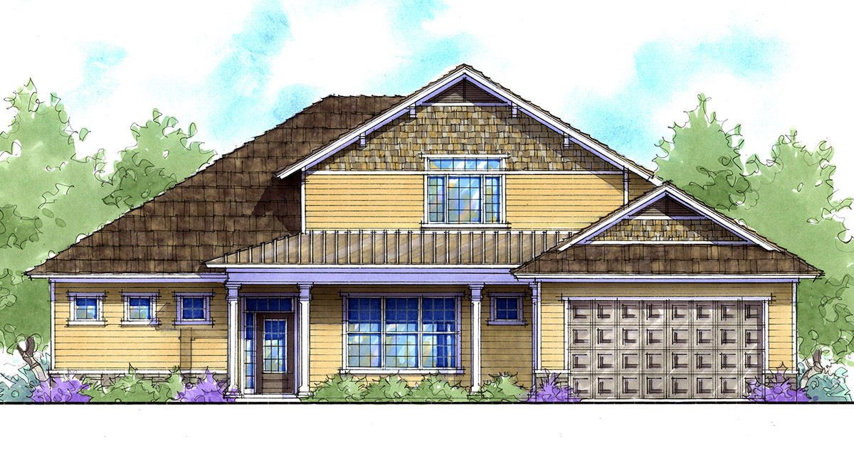 Energy efficient craftsman home plan 33132zr for Energy efficient craftsman house plans