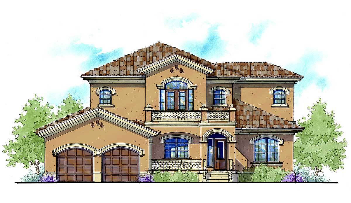 Balcony bridge in energy efficient home 33140zr for Efficient house design