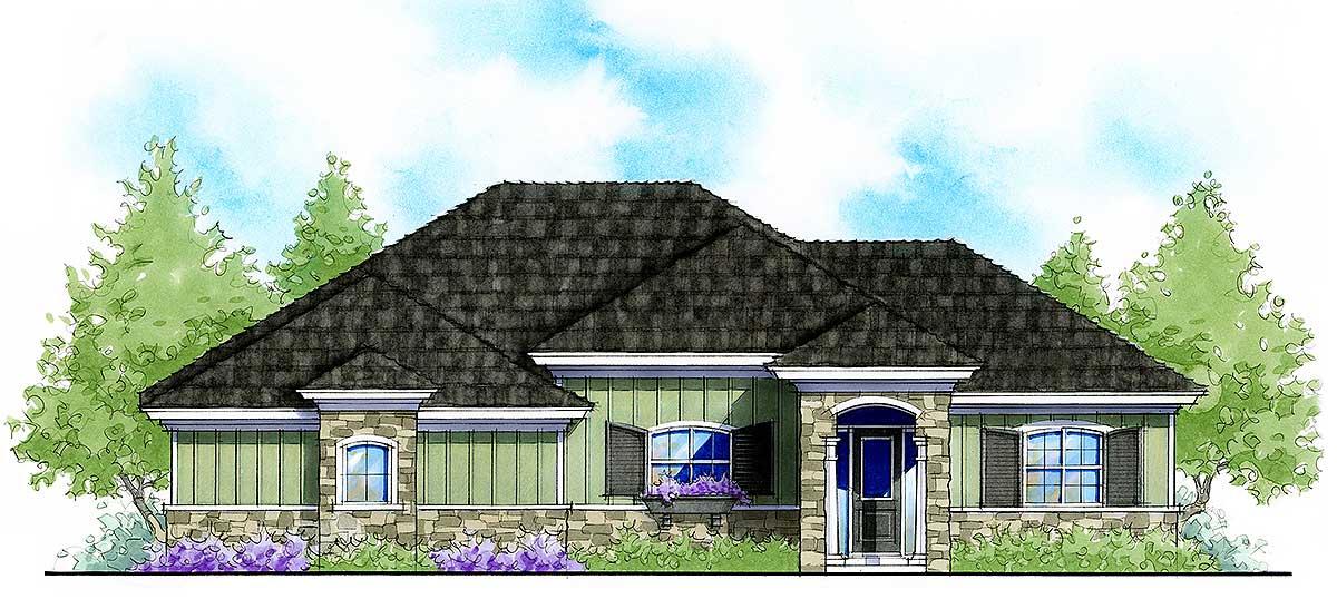 Energy Efficient Ranch House Plan 33149zr Architectural Designs House Plans