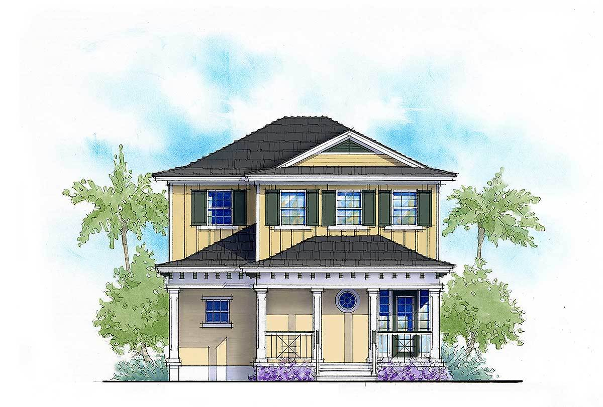 Net Zero Ready 3 Bed Cottage House Plan 33156zr