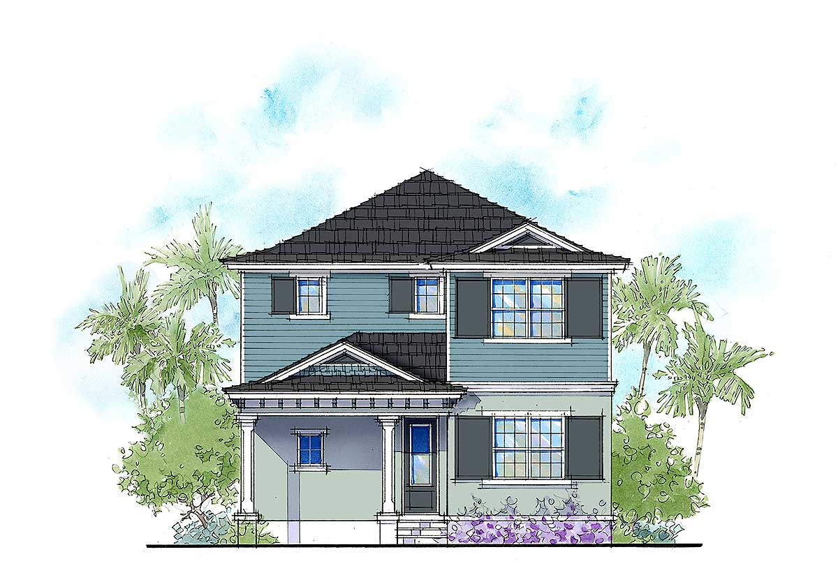 Flexible net zero ready cottage house plan 33157zr Net zero home designs