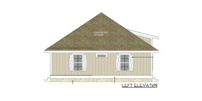 Bungalow with l shaped porch 34000cm architectural L shaped bungalow house plans