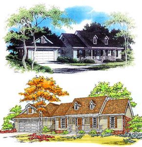 Adult Privacy in Farmhouse Plan - 3403VL thumb - 03