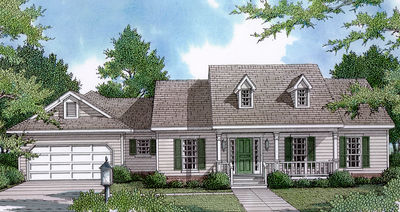 Adult Privacy in Farmhouse Plan - 3403VL thumb - 01