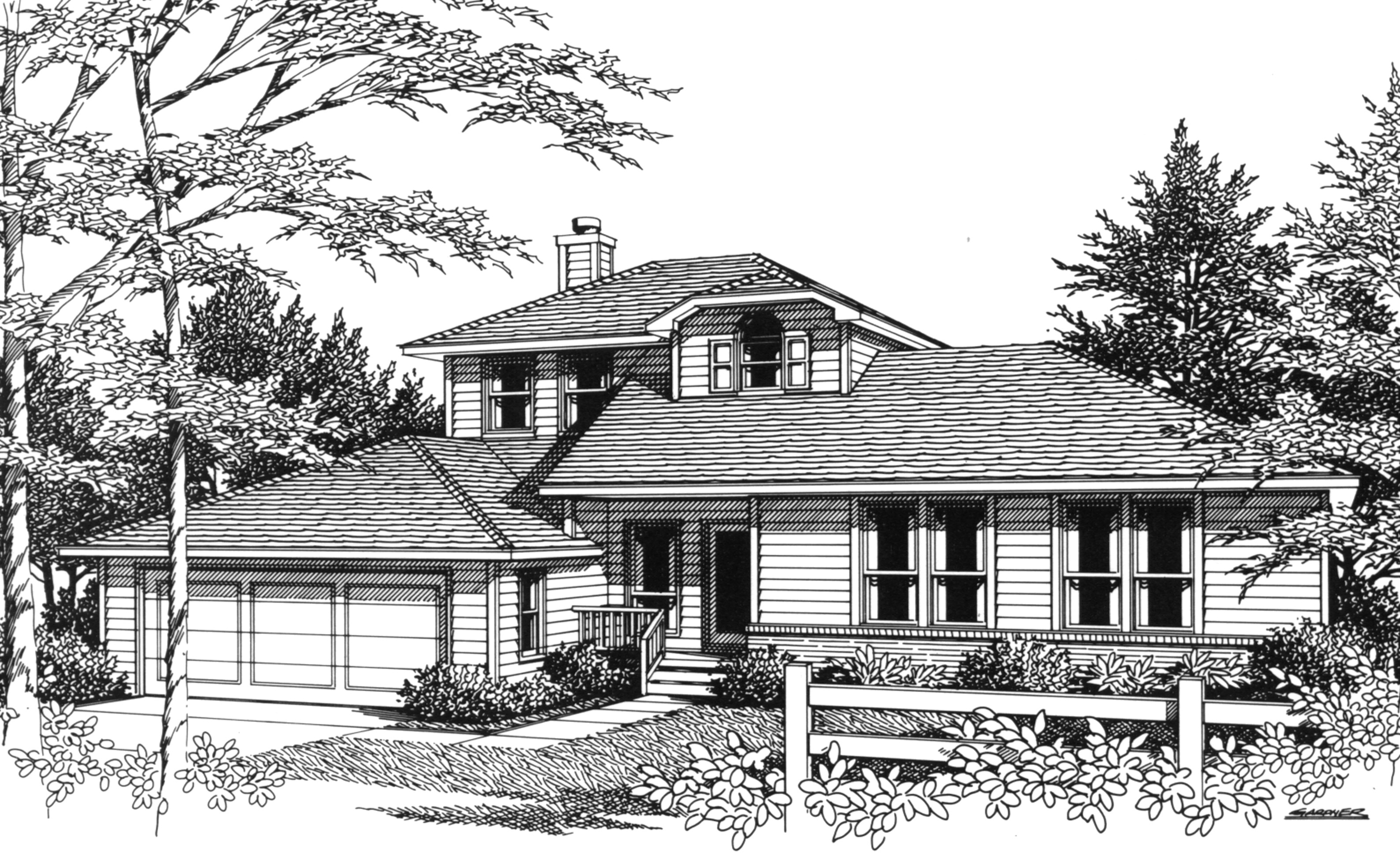 Master suite upstairs 3411vl architectural designs for House plans master upstairs