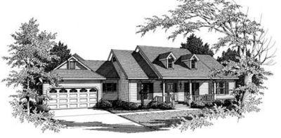 One Story Farmhouse Plans one-story farmhouse plan - 3424vl | architectural designs - house