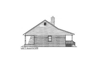 Starter Home With Two Covered Porches - 3435VL thumb - 02