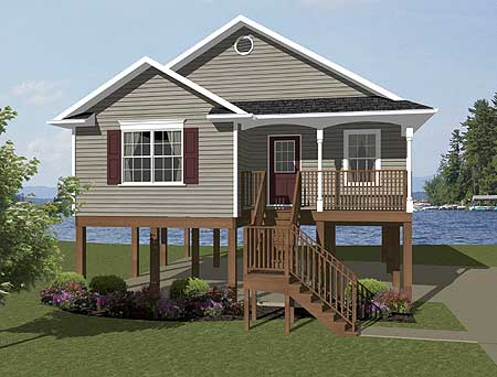 Elevated escape 3474vl 1st floor master suite beach for Low country beach house plans