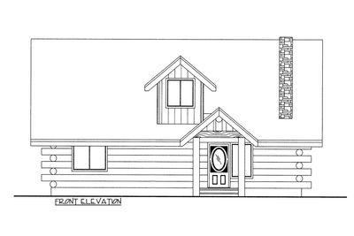 Rustic Log House Plan 35349GH Architectural Designs House Plans