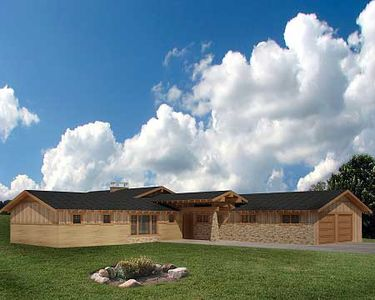 Sprawling Ranch Home 35438gh Architectural Designs