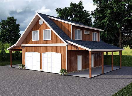 Architectural designs for Garage studio apartment ideas