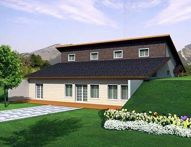 berm home. attractive berm house plan - 35458gh thumb 01 home i