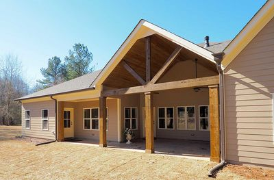 Craftsman House Plan with Angled Garage - 36031DK thumb - 10