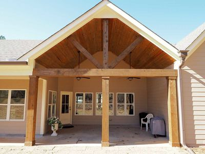 Craftsman House Plan with Angled Garage - 36031DK thumb - 11
