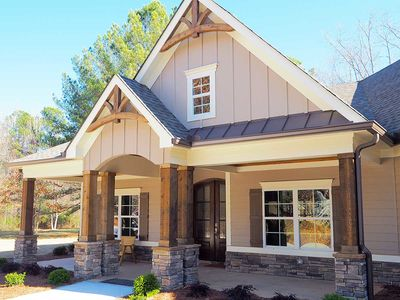 Craftsman House Plan with Angled Garage - 36031DK thumb - 05