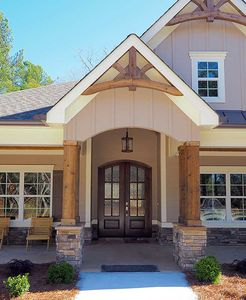Craftsman House Plan with Angled Garage - 36031DK thumb - 07